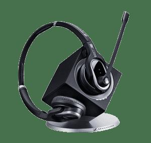 Sennheiser DW Pro 2 Professionelt headset til IP telefoner - Headsets fra Sennheiser og Jabra