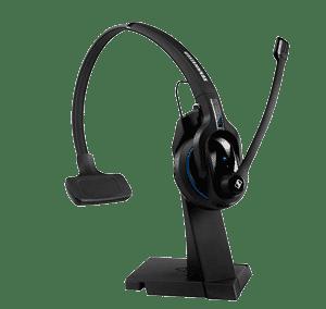 Sennheiser MB Pro 1 Professionelt bluetooth headset til mobiltelefoner med bordlader