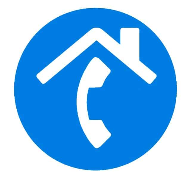 Hosted løsning - Både mobil- og fastnet hovednummer.