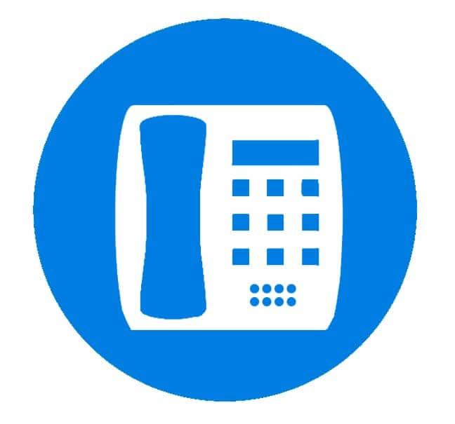 hosted erhvervs telefoni - Kunden kan købe nye telefoner eller genbruge eksisterende telefoner.