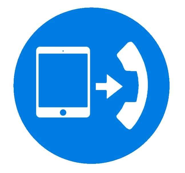 Hosted løsning -  Omstilling af kald via tablet, Pc og mobil.