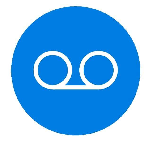 hosted erhvervs telefoni - Aflyt  beskeder fra Web app eller lydfil der sendes til e-mail adresse.