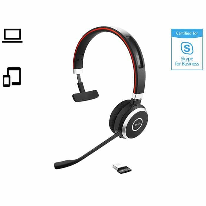 Bluetooth headsets fra Jabra