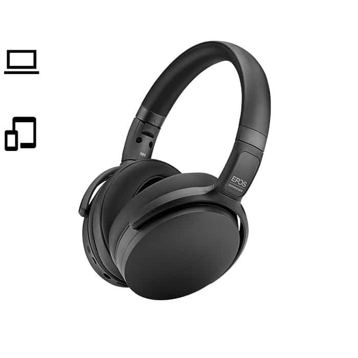 Headsets fra sennheiser og Jabra - Adapt 360